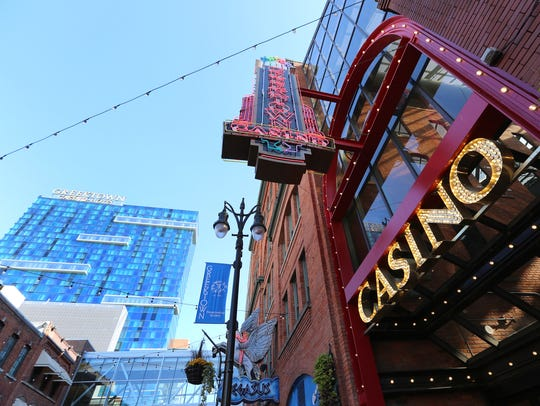 Greektown Casino and Hotel in Detroit on Monday, November