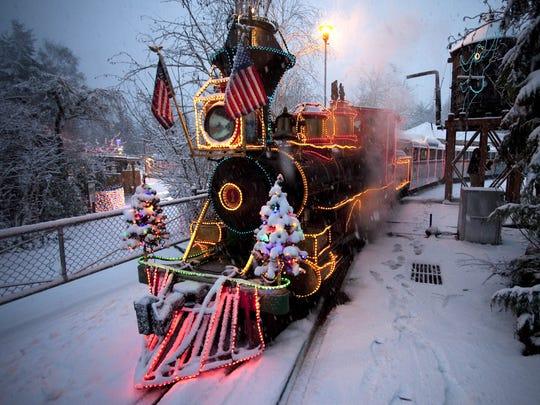 Carli Davidson/Oregon Zoo  The zoo train makes its