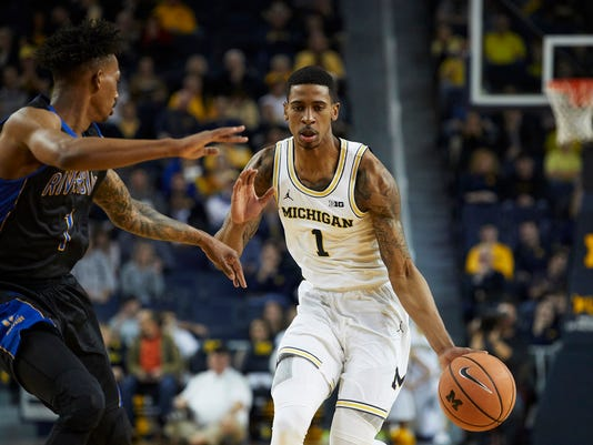 NCAA Basketball: UC Riverside at Michigan