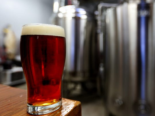 The Azimuth Amber at Salem Ale Works in Salem on Friday,