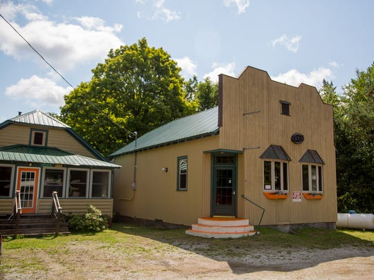 The Art Deco bar once known as Fanny's Tavern sits on US-26 just outside the town of Toivola in Michigan's Keweenaw Peninsula.
