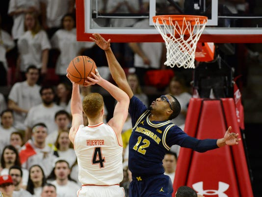NCAA Basketball: Michigan at Maryland