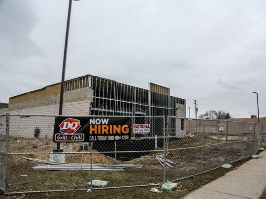 A new Dairy Queen is being built on Mound road at Martin