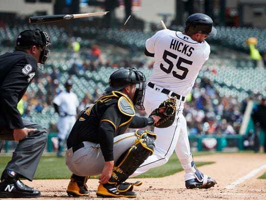 MLB: Game 1-Pittsburgh Pirates at Detroit Tigers