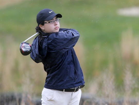 Michaila Cheung of Toms River North won last year's