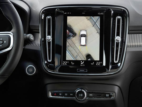 The  2019 Volvo XC40 SUV has a 360 camera