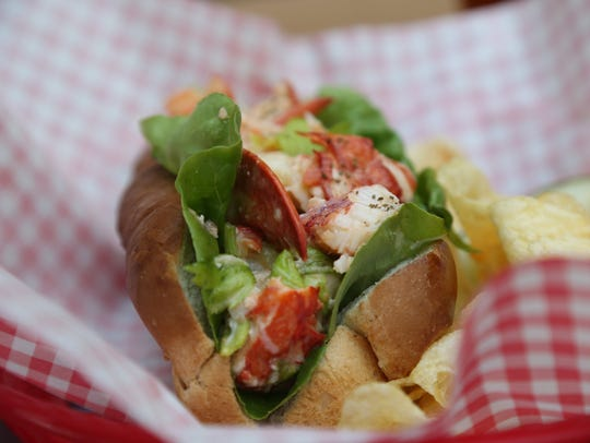 Lobster Roll at Great Lakes Culinary Center in Southfield,