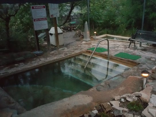 Winter getaway hot springs and hot tubs in new mexico for Public swimming pools in las cruces nm