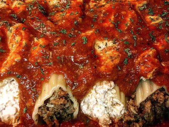 Sausage and Ricotta Pasta Casserole