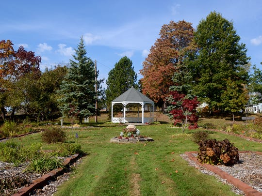 The gazebo Monday, Oct. 19, at Lincoln Park in Port Huron.