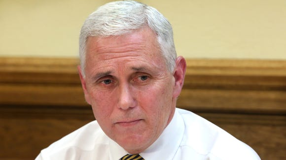 """Indiana Gov. Mike Pence has garnered the attention of EMILY's List, a group that supports pro-choice Democratic female candidates. The Washington, D.C.-based organization says Pence's policies are """"dangerous to women and families and damaging to the Indiana economy"""" and has him on its """"On Notice"""" list for targeting in the 2016 election. A Pence spokesperson said the group engages in """"divisive, negative politics."""""""