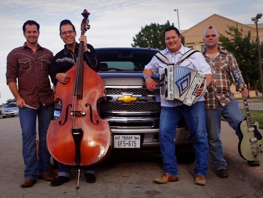 Tex-Mex honky-tonkers The Tejas Brothers will play at The Royal Theatre April 6.