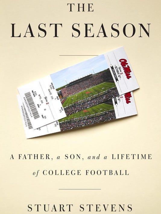 """""""The Last Season"""" book jacket"""