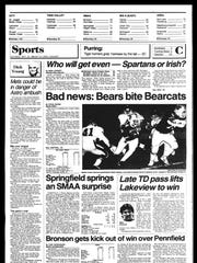 Battle Creek Sports History: Week of Sept. 22, 1986