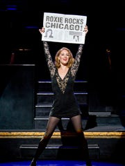 Dylis Croman stars as Roxie Hart in the national tour