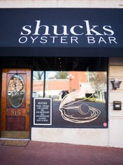 Shucks Oyster Bar had its grand opening Tuesday in downtown Anderson.