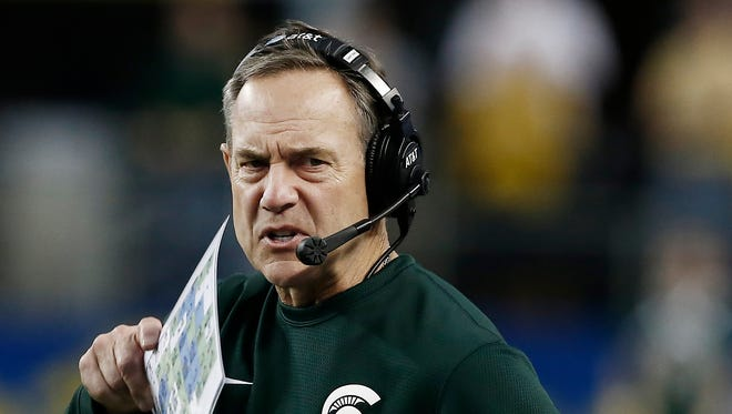 Michigan State head coach Mark Dantonio.