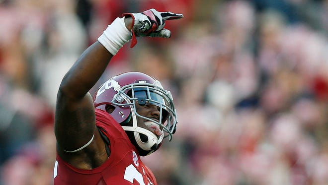 Landon Collins is the draft's top rated safety. The Colts need one (or two).