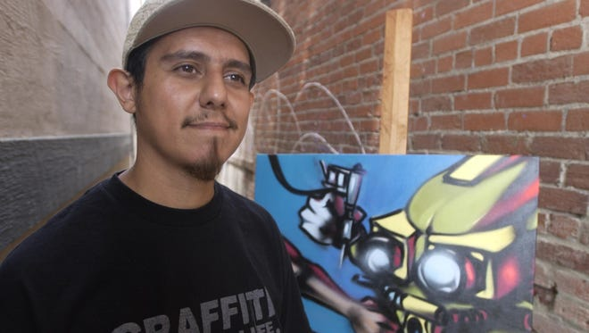 Artist Erik Gonzalez's next project will spotlight female graffiti artists at the Queens of Style event at the old Lumber Yard on Saturday, March 5.