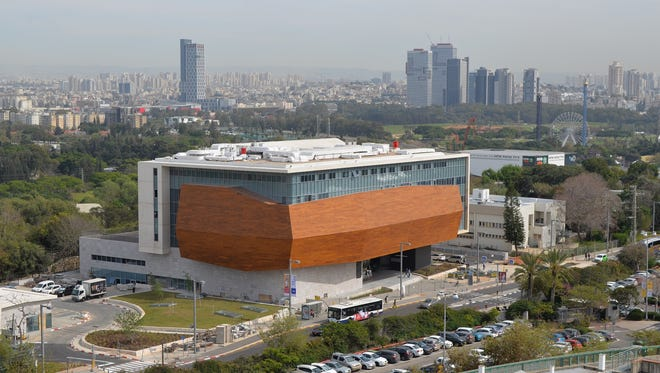 The Steinhardt Museum of Natural History in Tel Aviv, Israel, is designed to resemble Noah's Ark.