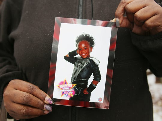 7-year-old Chanell Berry was shot and killed in her