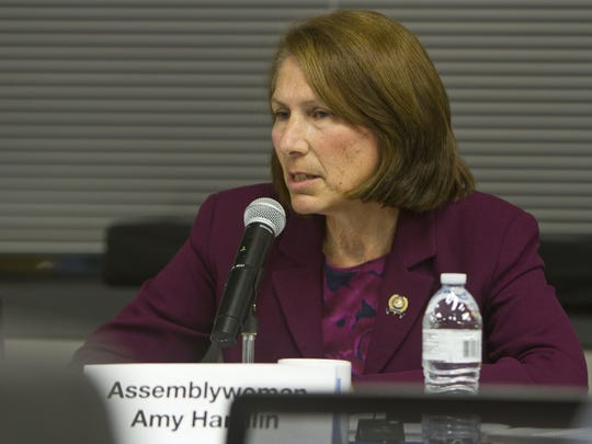 New Jersey State Assemblywoman Amy Handlin.