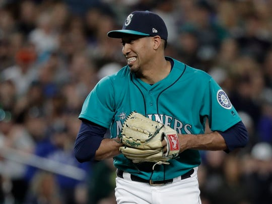 At his current pace, Mariners closer Edwin Diaz could approach the major league record for saves in a season.