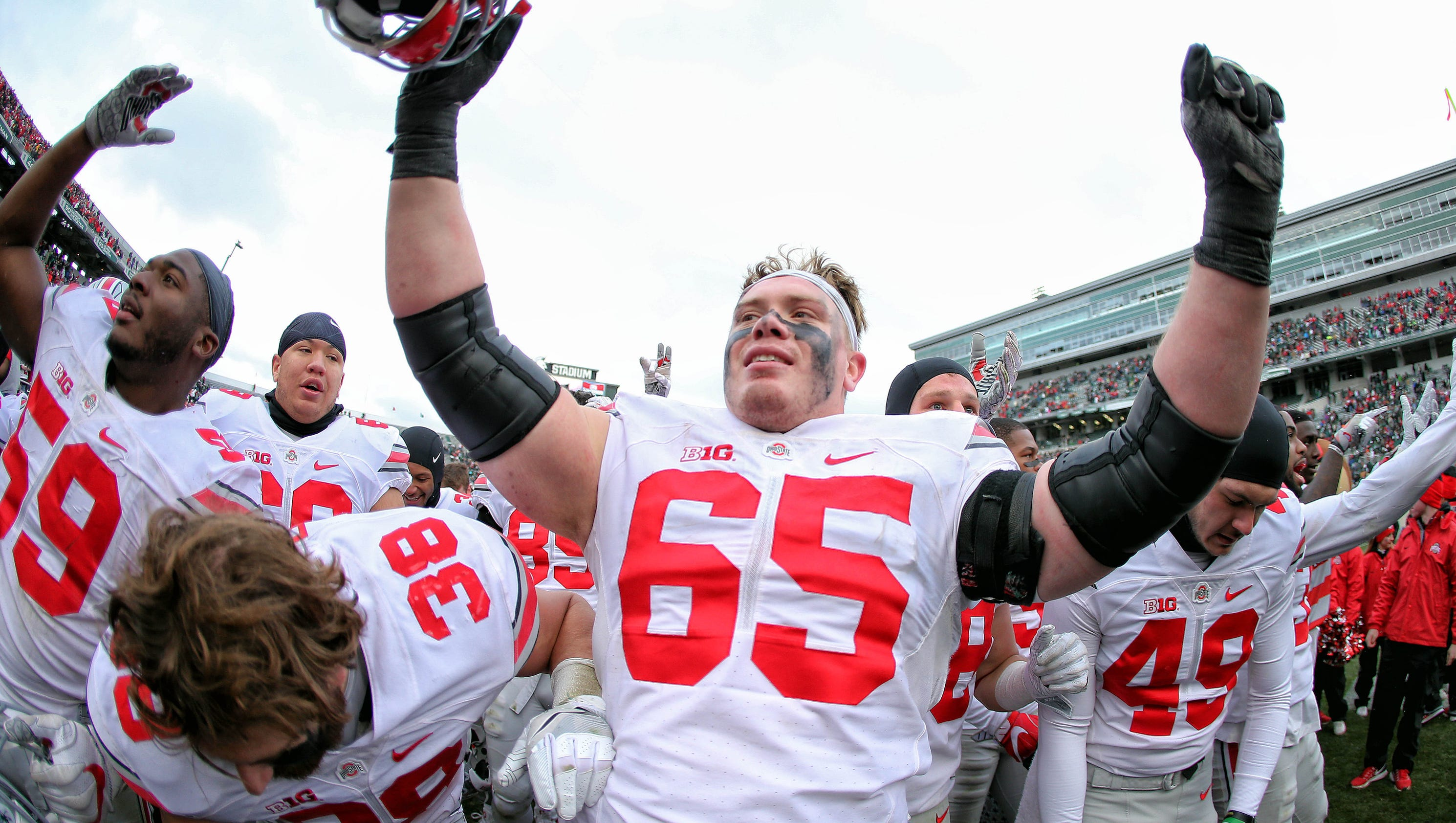 In 'surreal' career, Pat Elflein at center of Ohio State's ...