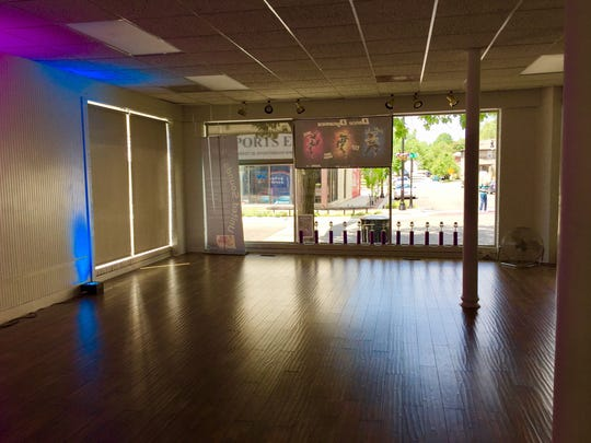 Dance Dynamics new space looks directly out on to Main