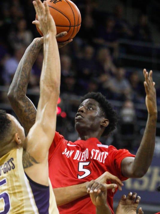 NCAA Basketball: San Diego State at Washington