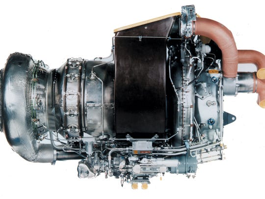 A Pratt & Whitney auxiliary power unit.