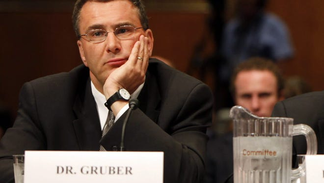 Jonathan Gruber at a health care reform hearing in 2009.