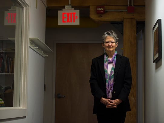 Suzi Wizowaty, executive director of Vermonters for