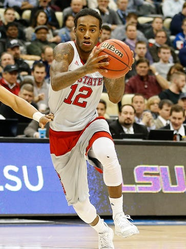 North Carolina State Wolfpack guard Anthony Barber