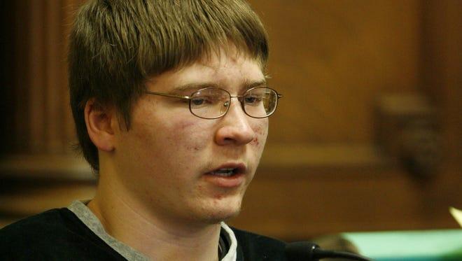 Brendan Dassey testifies at his 2007 trial.