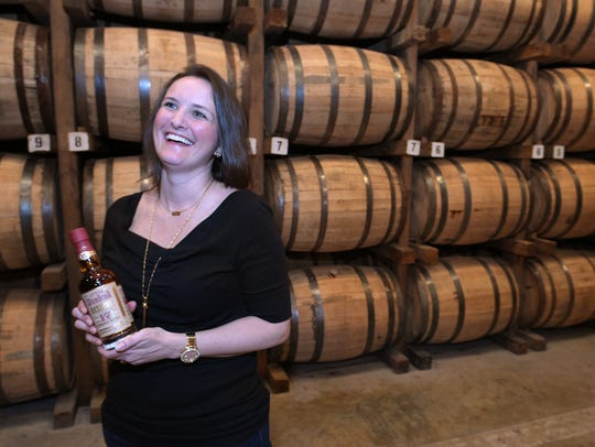 Allisa Henley previously worked as a distiller at George Dickel before joining Popcorn Sutton Distilling, which was later bought out by Sazerac Co.