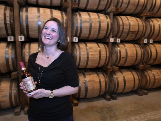 George Dickel Distiller Allisa Henley talks about the