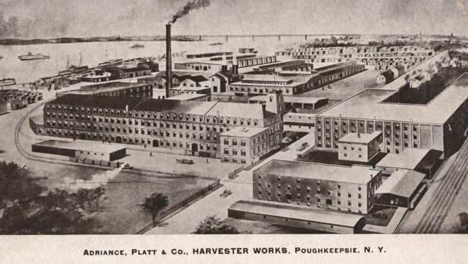 Adriance, Platt & Co. Harvester Works in Poughkeepsie perished in a massive fire in 1939. The site is now home to The Grandview and Shadows on the Hudson.