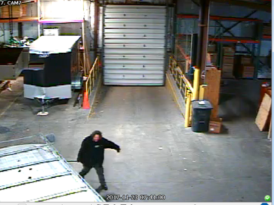 This is one of the four men suspected in the theft