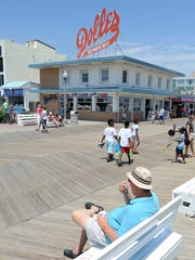 Businesses on the Rehoboth Beach boardwalk are readying for the Independence Day weekend.