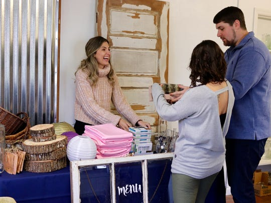 Soon-to-be married couples will have the opportunity to hunt for bargains on wedding stuff at the Recycled Wedding Market on Feb. 24.