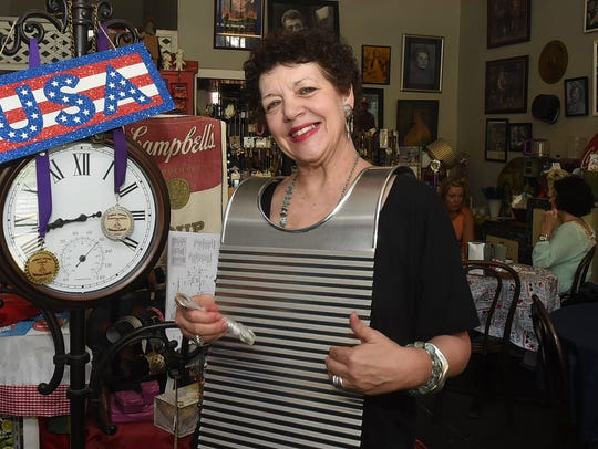 Wanda Juneau promotes Cajun and Creole culture at Back
