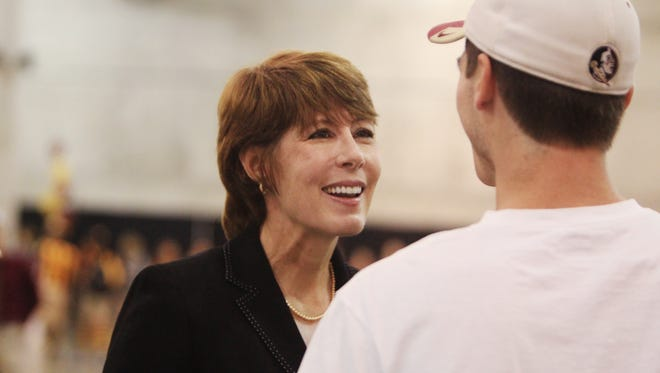 Rep. Gwen Graham nominated nine local students to attend a U.S. military academy.