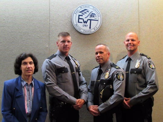 East Windsor Mayor Janice S. Mironov administered the