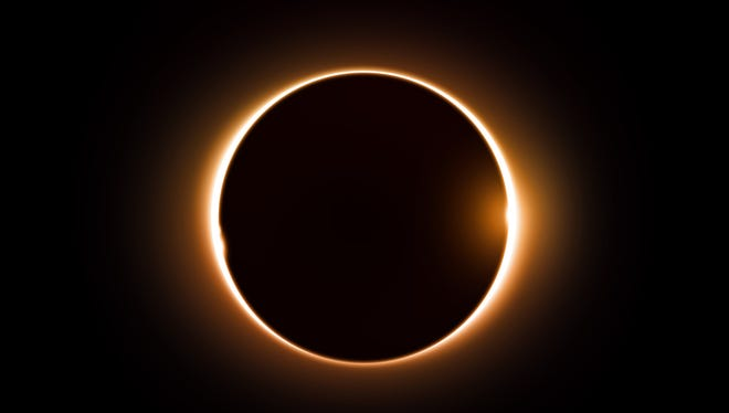 Digital eclipse image