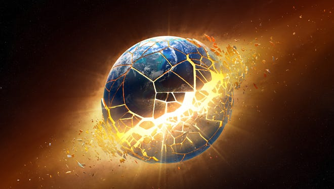 """David Meade, a Christian and self-published author, predicts the """"end times"""" are very near, as in this Saturday."""
