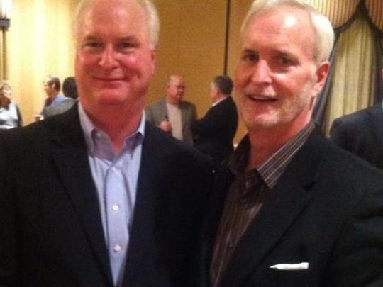 Terry, left, and Pat McClowry together in January 2013.