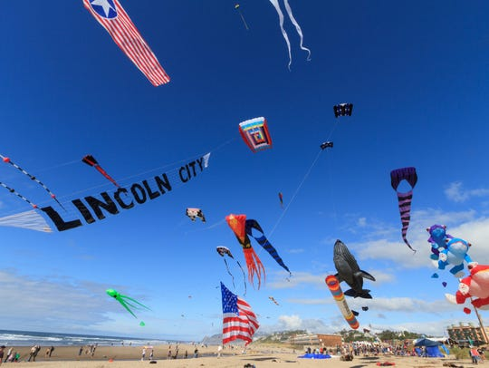 Lincoln City Summer Kite Festival takes place 10 a.m.