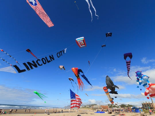 Lincoln City Summer Kite Festival takes place 10 a.m. to 4 p.m. Saturday, June 27, and Sunday, June 28, at D-River Wayside State Park.