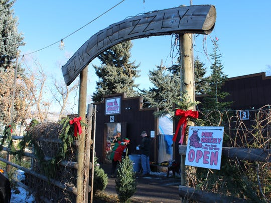 Located less than a mile from downtown Missoula, the Pink Grizzly Greenhouse has been selling Christmas trees and wreaths to local residents for more than 30 years.